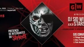 Sid Wilson, DJ do Slipknot, se apresenta em São Paulo no sábado
