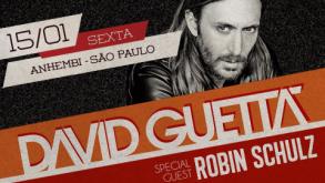 David Guetta em São Paulo em 2016: ingressos à venda