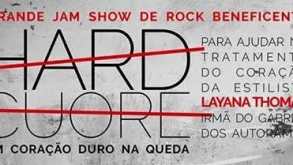 Show beneficente reúne artistas do rock nacional