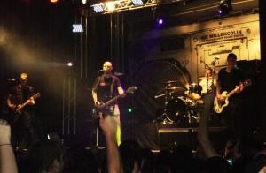 O Millencolin, na última vez que tocou em São Paulo, em 2010 (Foto: Piero Paglarin)