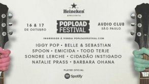 Popload Festival 2015 traz Iggy Pop e Belle and Sebastian