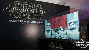 Exposição Star Wars: O Despertar da Força em São Paulo