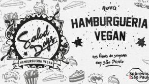Nova hamburgueria vegana em São Paulo!