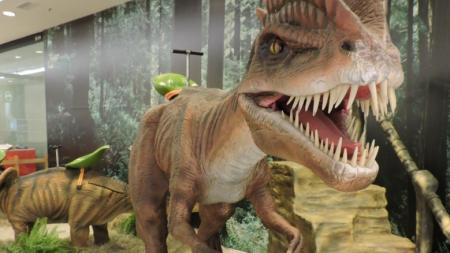 Exposição Mundo Jurássico acontece até março