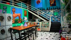 Lavanderia Gourmet, com bar e café é o novo point na Consolação