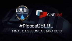 Cinemas transmitem 2ª etapa da final do CBLoL 2016