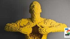 Exposição com esculturas de LEGO chega a São Paulo em agosto
