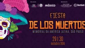 Fiesta de Los Muertos acontece neste fim de semana