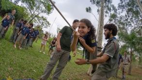 Movimento de Escoteiros em São Paulo