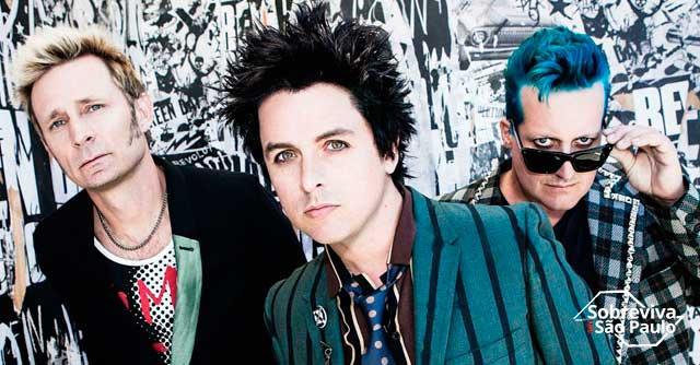 Confirmado: Green Day toca no Brasil em novembro!