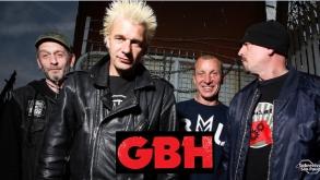 GBH toca em São Paulo em maio, com abertura do Total Chaos
