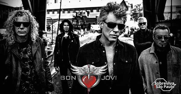 É oficial: Bon Jovi faz show no Allianz Parque em setembro