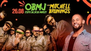 OBMJ e Mitchell Brunings homenageiam Bob Marley em São Paulo