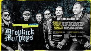 Dropkick Murphys toca no Brasil em outubro