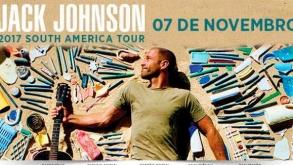 Jack Johnson faz shows no Brasil em novembro