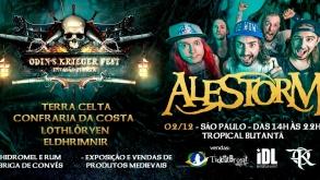 Odin's Krieger Fest – Invasão Pirata marca a volta do Alestorm ao Brasil