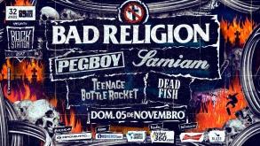Festival Rock Station traz Bad Religion e outras bandas para tocar em São Paulo