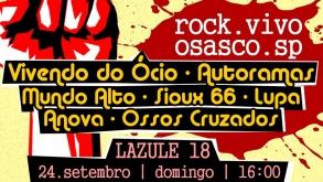 Festival de rock leva atrações variadas para tocar em Osasco