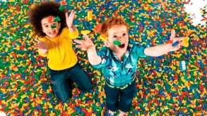 LEGO promove evento para crianças no Shopping Metrô Itaquera