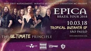 Epica confirma shows no Brasil em março de 2018