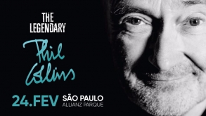 Phil Collins faz três shows no Brasil em 2018
