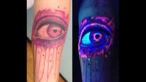 10 tatoos para brilhar sob a luz negra