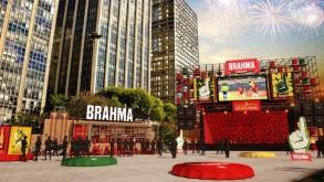 Brahma cria arena para transmissão de jogos da Copa do Mundo 2018 em SP