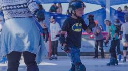Pista de patinação no gelo em Osasco