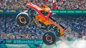 Monster Jam, a competição de monster trucks, volta a São Paulo