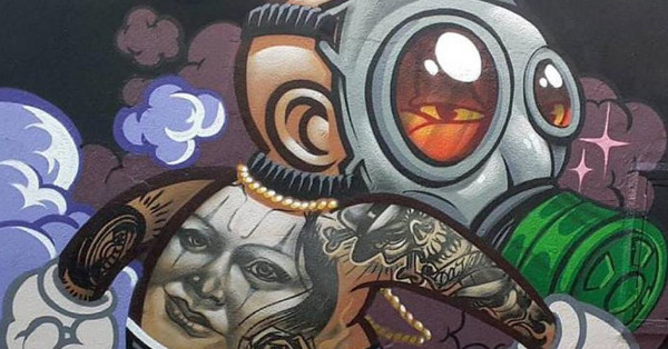Memorial da América Latina recebe a Bienal Internacional do Graffiti