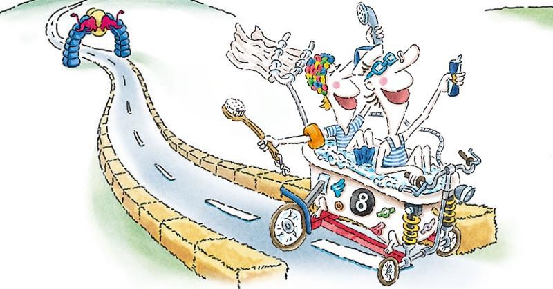 """Red Bull Ladeira Abaixo, a """"corrida maluca"""" do mundo real"""