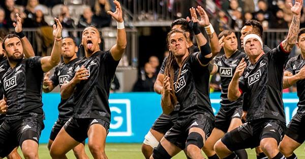 All Blacks enfrentam a Seleção Brasileira de Rugby no próximo sábado