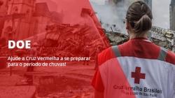 Cruz Vermelha de São Paulo lança campanha de doação preventiva