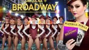 """Musical """"Um Dia na Broadway"""" volta em cartaz a partir de sexta-feira"""