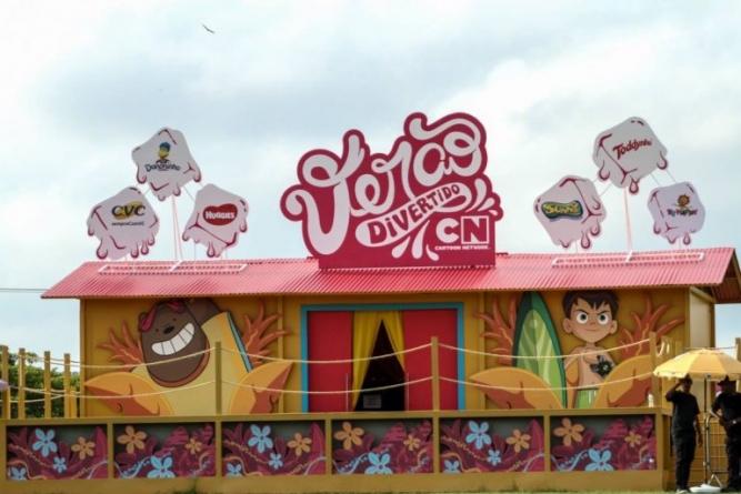 Cartoon Network promove no Parque Villa-Lobos 'Verão Cartoon 2019'