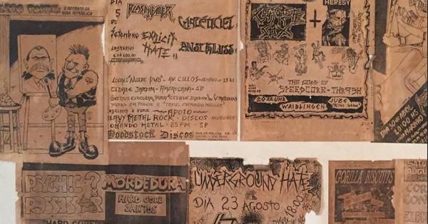 Exposição retrata os primórdios da comunicação musical underground