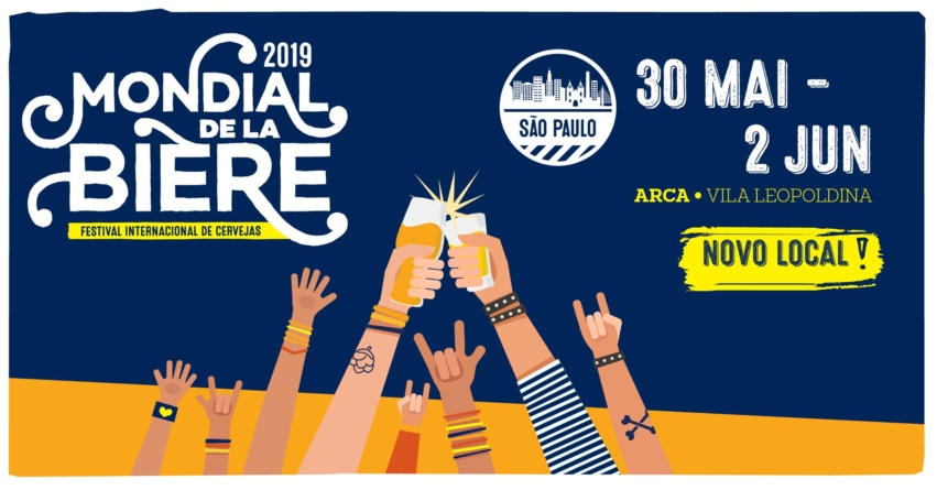 Ingressos à venda para o Mondial de la Bière São Paulo 2019