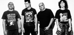 Banda Cólera faz show gratuito em comemoração aos seus 40 anos