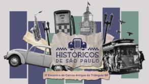 1º Encontro de Carros Antigos acontece no Centro com várias atrações