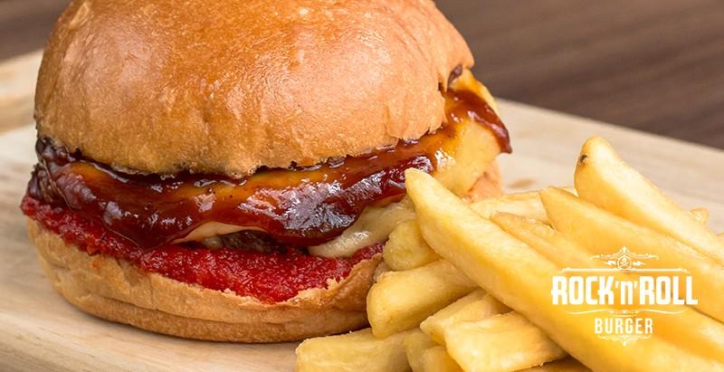Rock'n'Roll Burger promove rodízio de hamburgers em junho
