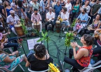 Projeto semanal da Casa das Caldeiras chega ao fim com evento de samba