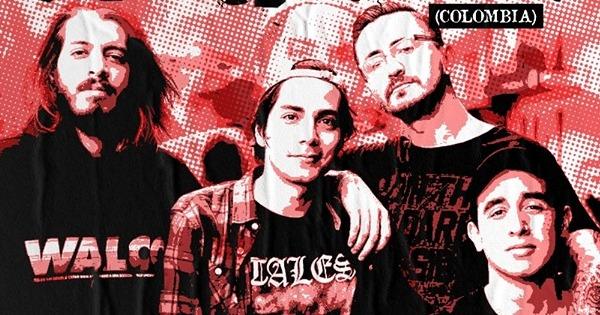 Banda colombiana The Tryout traz seu hardcore ao Brasil
