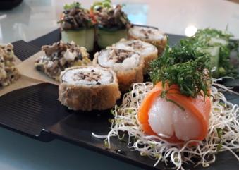 Temaki Fry oferece comida japonesa vegana em seu cardápio