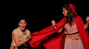 Chapeuzinho Vermelho no Teatro Folha
