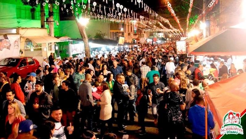 93ª Festa da Achiropita começa no próximo fim de semana no Bixiga