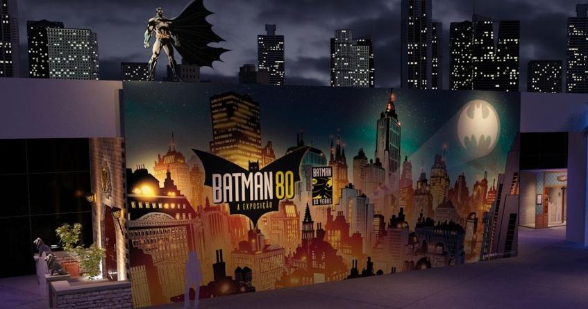 """""""Batman 80 – A Exposição"""" celebra os 80 anos do herói em São Paulo"""