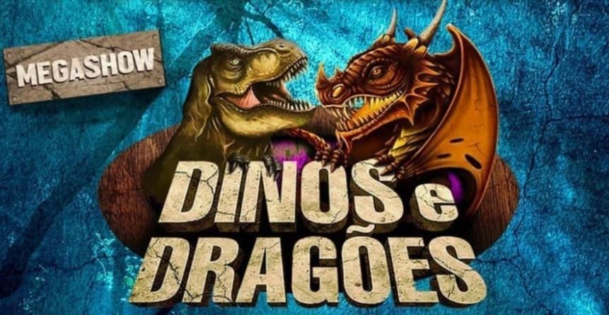 """Exposição interativa """"Dinos e Dragões – O Grande Combate"""" é prorrogada"""