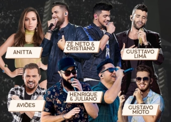 Farraial Sertanejo acontece no próximo sábado na Arena Anhembi