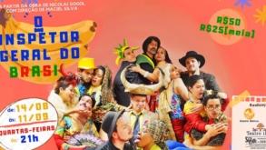 [Teatro] O Inspetor Geral do Brasil estreia amanhã no Teatro Itália