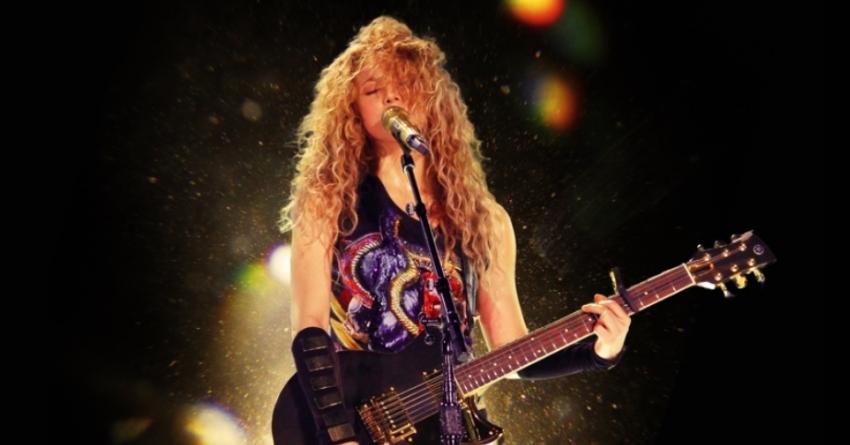Shakira leva sua El Dorado World Tour para as telonas de cinema